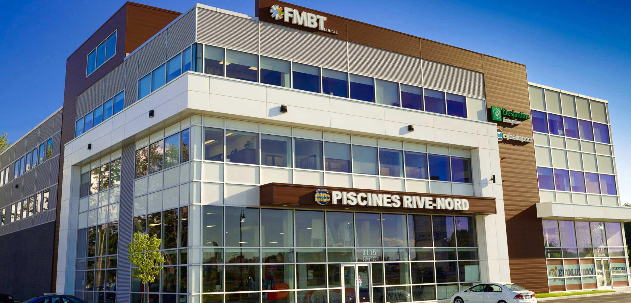 les bureaux de FMBT